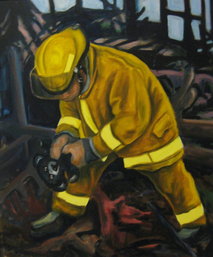 The Compulsion Towards Heroism Painting - The Compulsion Towards Heroism by John Malone