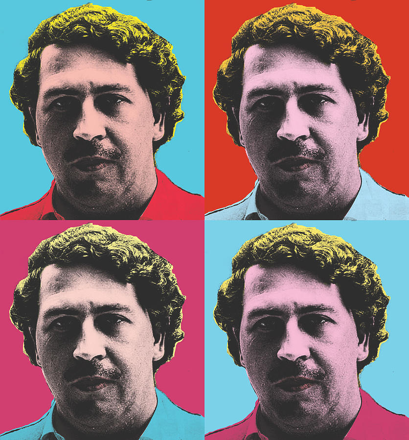 The Connect Pablo Escobar Digital Art By The Connect