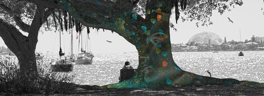 The Conscious Tree Digital Art