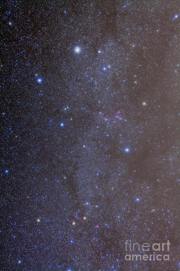 The Constellations Of Auriga Photograph