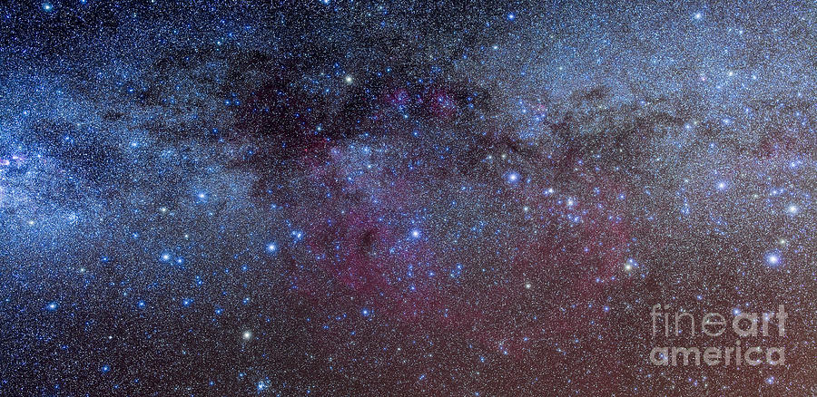 The Constellations Of Puppis And Vela Photograph