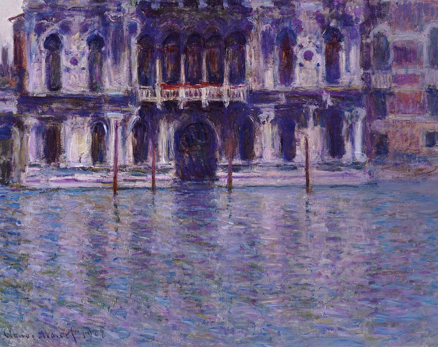 French Painting - The Contarini Palace by Claude Monet