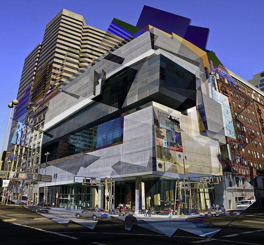 Cincinnati Photograph - The Contemporary Arts Center by Scott Meyer