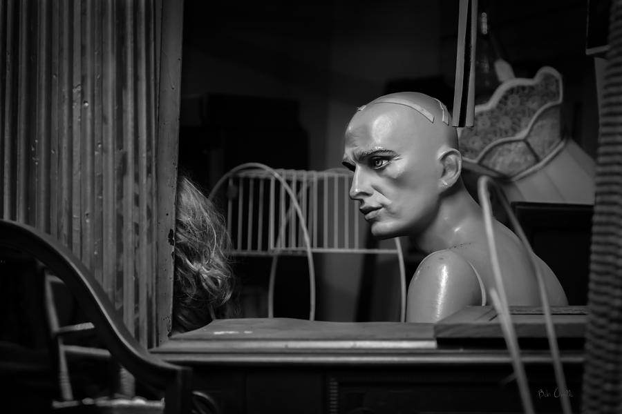 Mannequin Photograph - The Conversation by Bob Orsillo