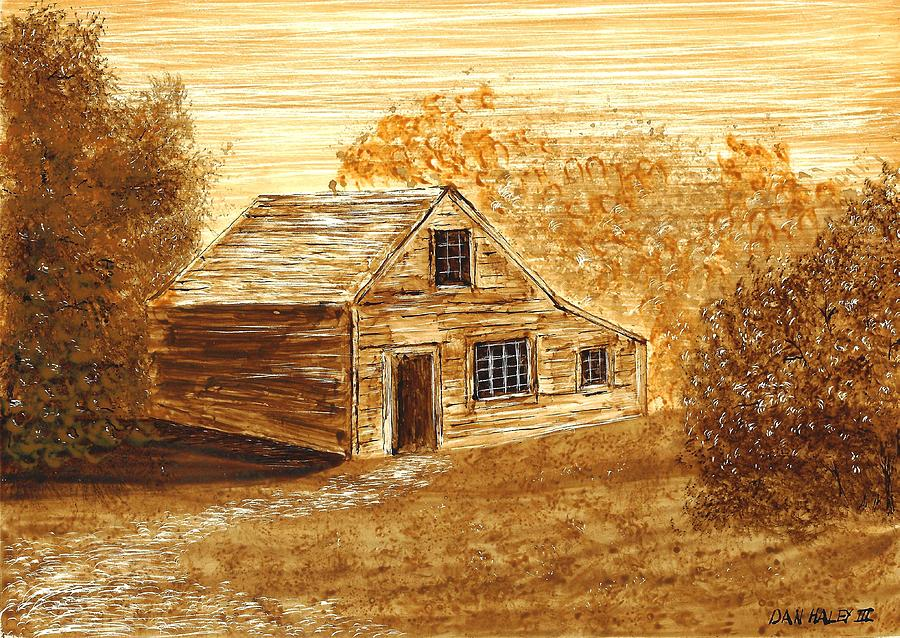 Cooper Painting - The Coopers House by Dan Haley