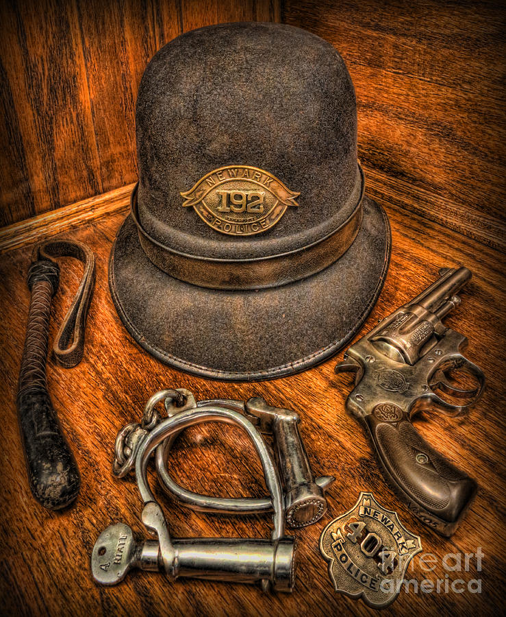 Police Photograph - The Coppers Gear - Police Officer by Lee Dos Santos