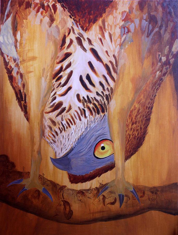 Predator Painting - The Corrupted Predator  by Amit Thakurta