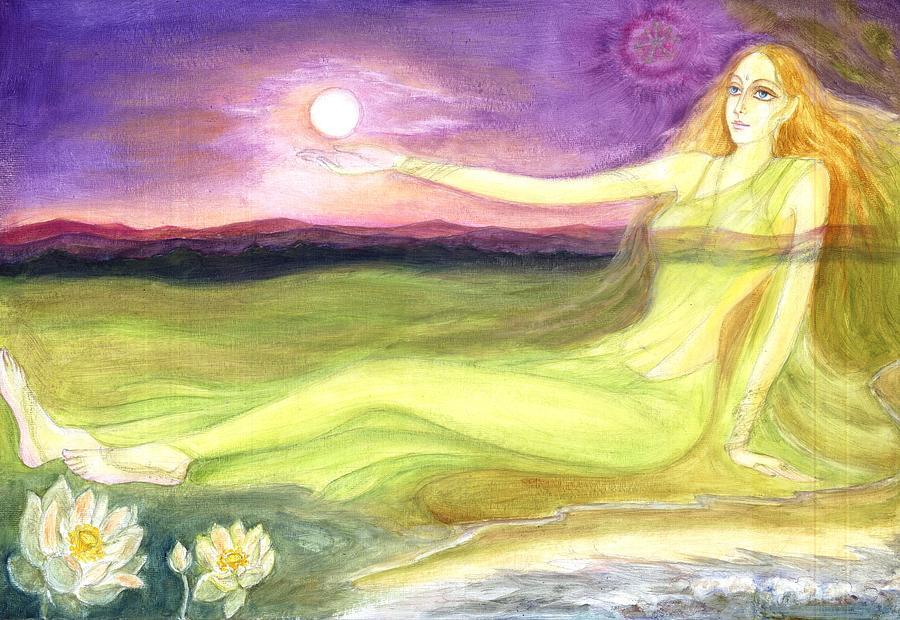 Consciousness Painting - The Cosmic Consciousness by Shiva  Vangara