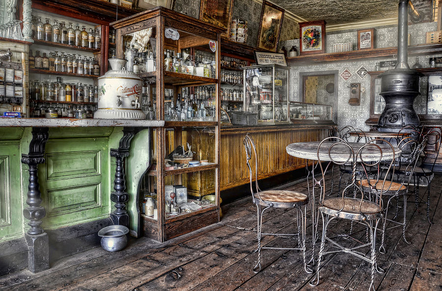 Country Store Photograph - The Counter by Ken Smith