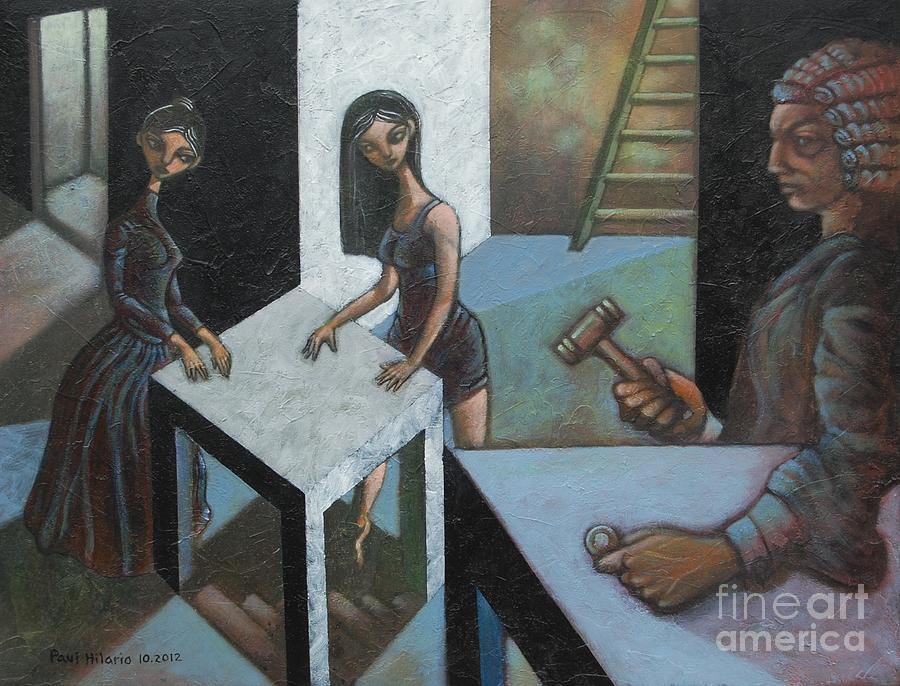 Women Painting - The Court Of O by Paul Hilario
