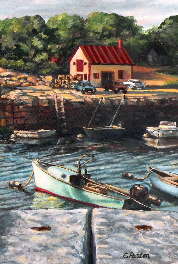 Gloucester Painting - The Cove by Eileen Patten Oliver