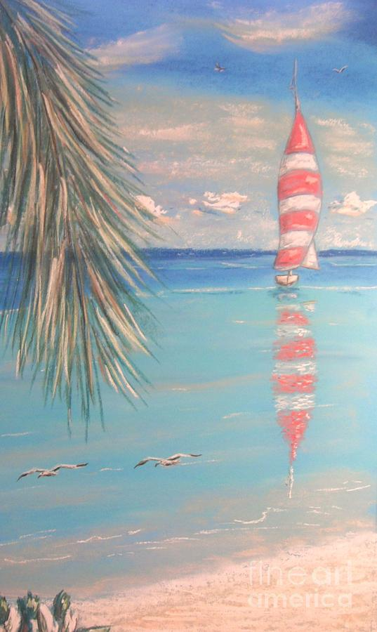 Tropical Painting - The Cove by The Beach  Dreamer