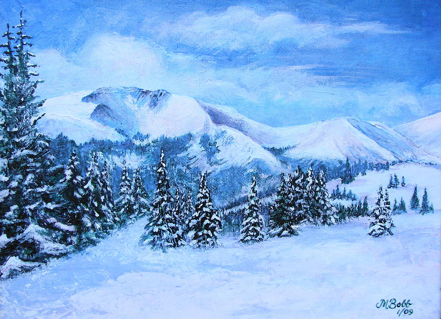 Cold Air Painting - The Covering by Margaret Bobb
