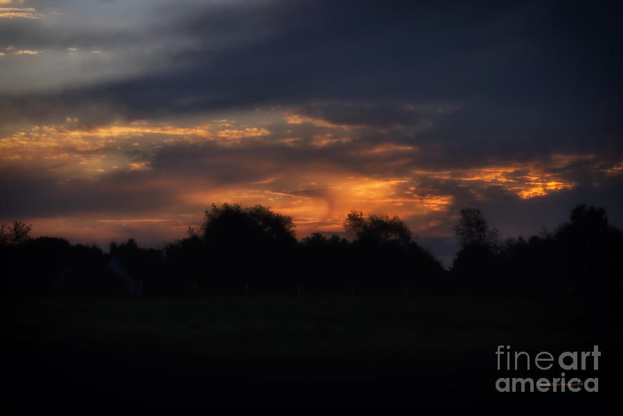 Jackson Michigan Photograph - The Crack Of Dawn by Thomas Woolworth