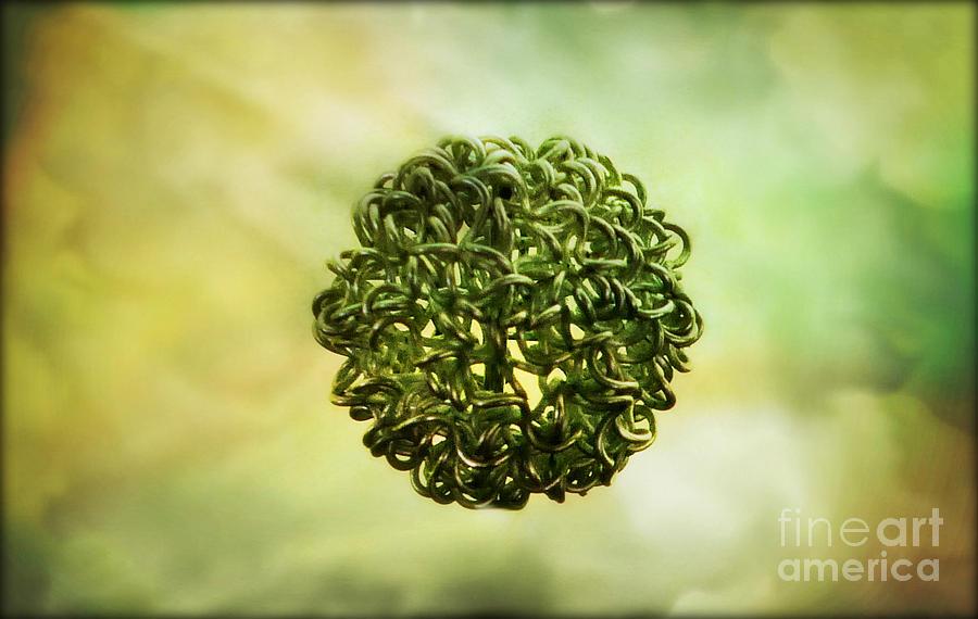 Ball Photograph - The Creation by Binka Kirova