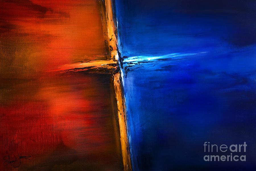 The Cross Mixed Media - The Cross by Shevon Johnson