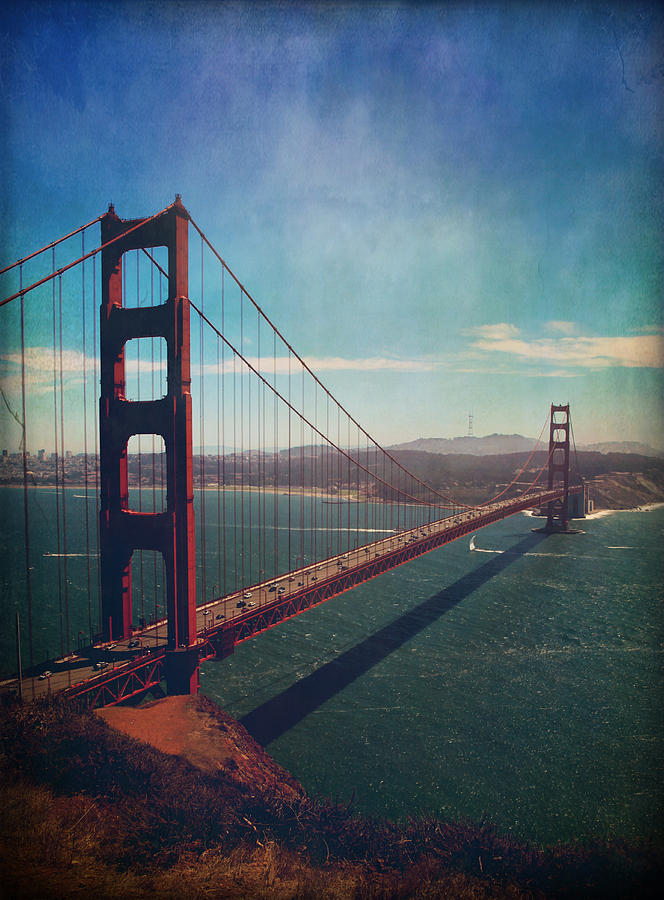 San Francisco Photograph - The Crossing by Laurie Search