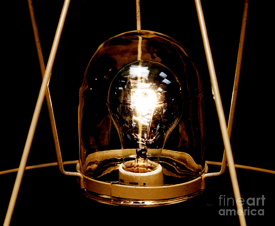 Light Photograph - The Crystal Ball  by Steven Digman