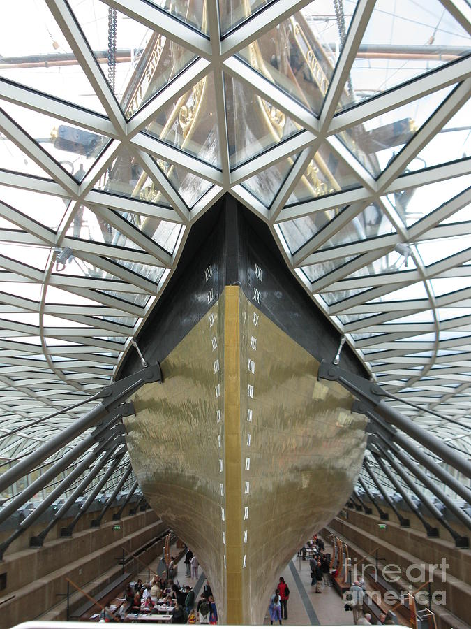 Cutty Sark Photograph - The Cutty Sark by Ellen Howell