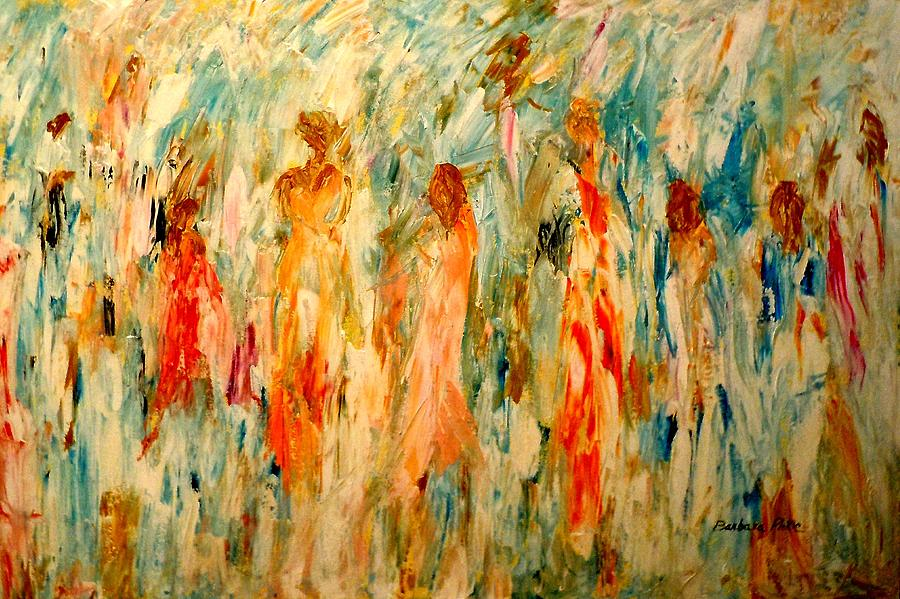 Dance Painting - The Dance by Barbara Pirkle
