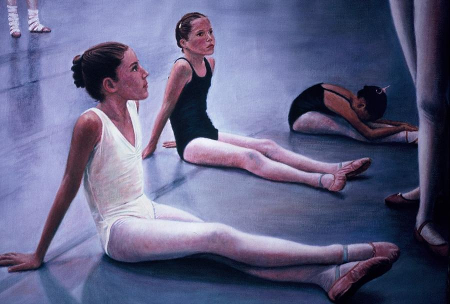 Aliveballet Painting - The Dance Class by James Welch