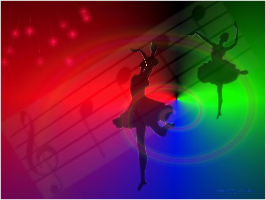 Ballerina Photograph - The Dance by Joyce Dickens