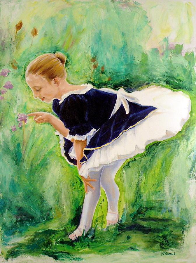 Dancer Painting - The Dancer by Sheila Diemert