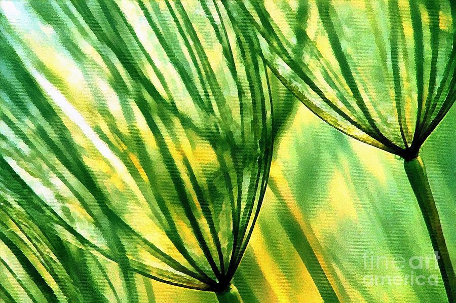 Odon Painting - The Dandelion by Odon Czintos