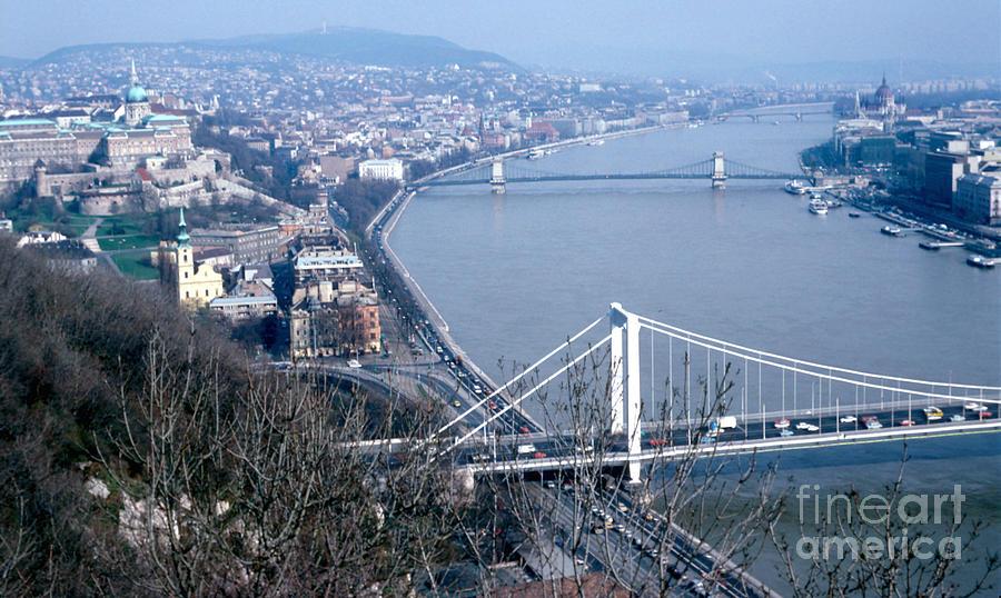 Travel Photograph - The Danube by Eva Kato
