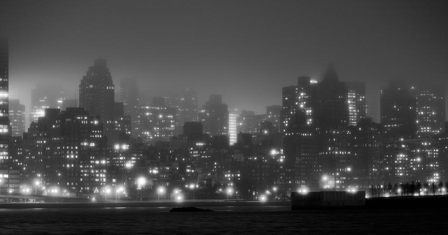 Gotham Photograph - The Dark And Stormy Night by JC Findley