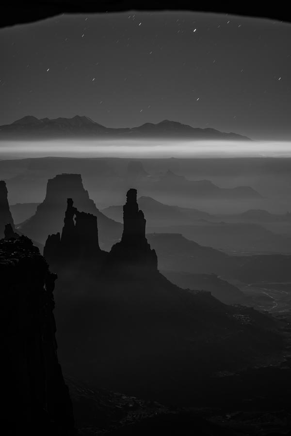 Utah Photograph - The Dark Side Of The Moon by Dustin  LeFevre