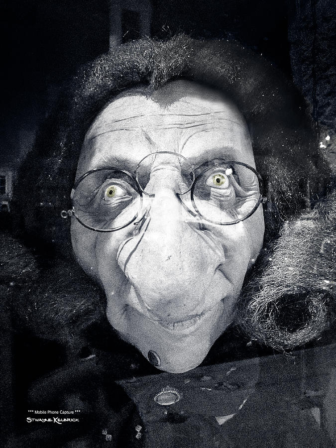Portrait Photograph - The dark ugly witch by Stwayne Keubrick