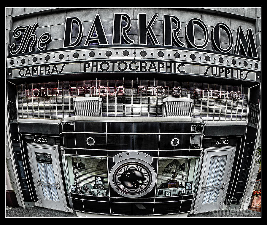 Florida Photograph - The Darkroom by Edward Fielding
