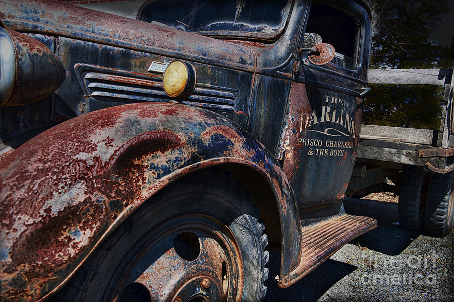 Truck Photograph - The Darlins Truck by David Arment
