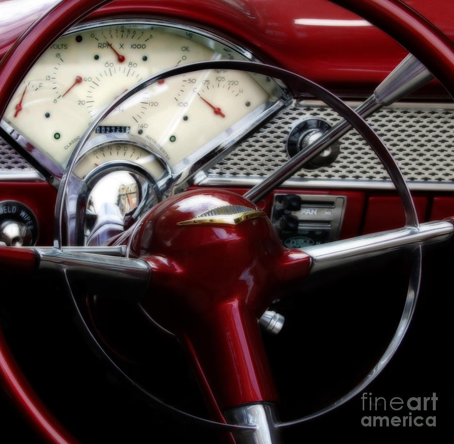 Old Cars Photograph - The Dashing Beauty Of Navigation  by Steven Digman