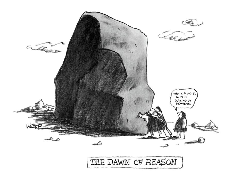 The Dawn Of Reason Drawing by Robert Weber