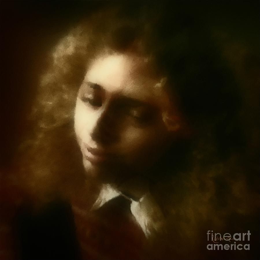 Girl Painting - The Daydream by RC deWinter