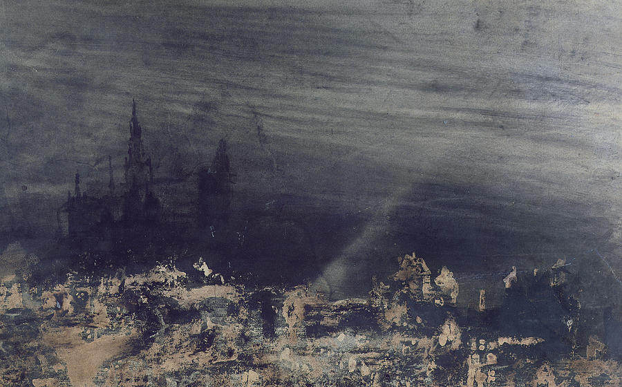 Urban Painting - The Dead City by Victor Hugo