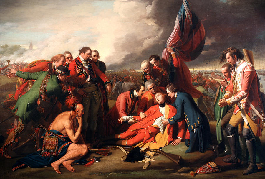 The Death Of General Wolfe Digital Art - The Death Of General Wolfe by Benjamin West