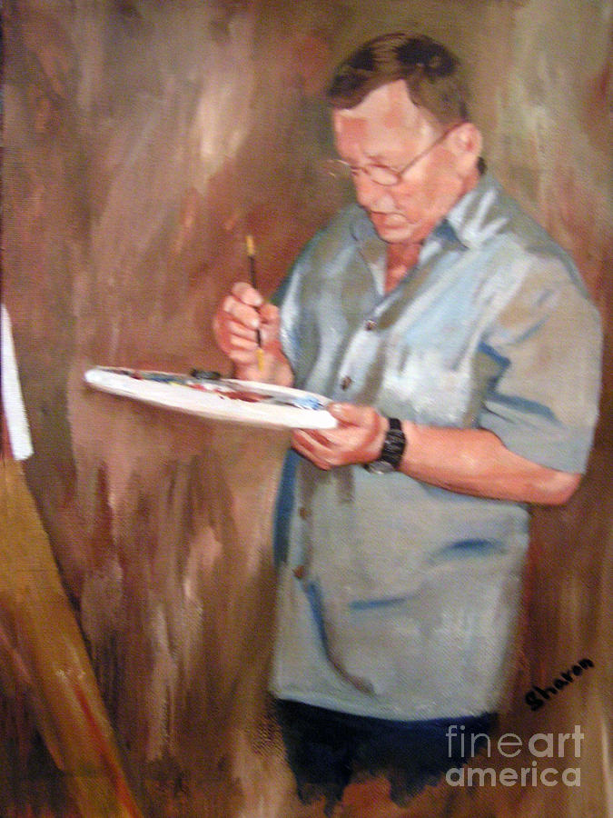 Artist Painting - The Definition Of An Artist by Sharon Burger