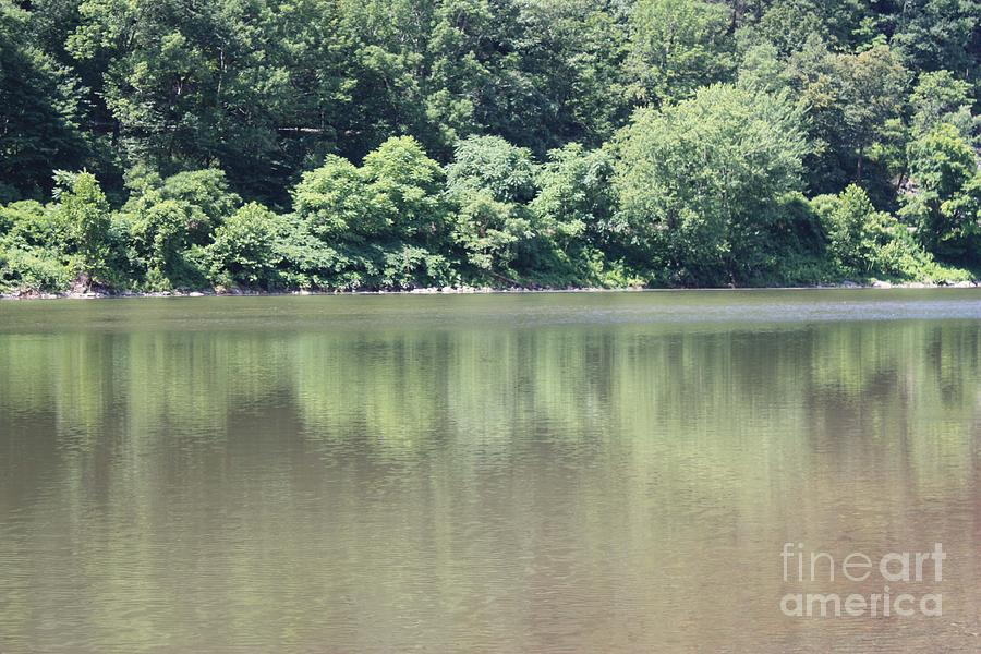 The Delaware Water Gap Photograph - The Delaware Water Gap by John Telfer