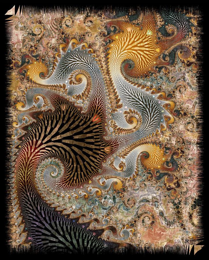 Fractals Digital Art - The Delta by Kim Redd