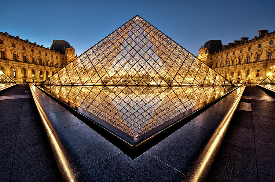 Architecture Photograph - The Diamond by Marc Pelissier
