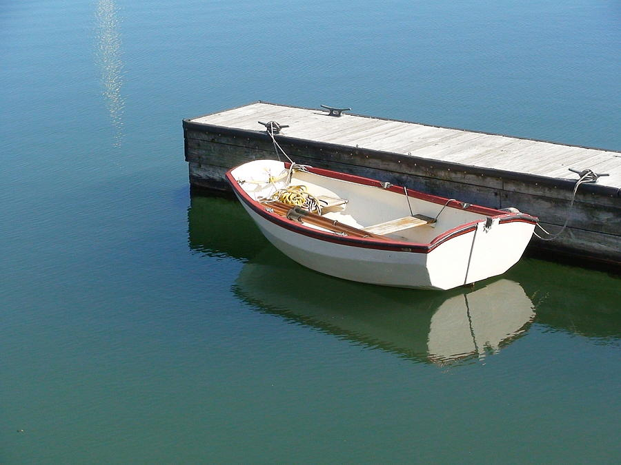 Dingy Photograph - The Dingy by Thomas Young