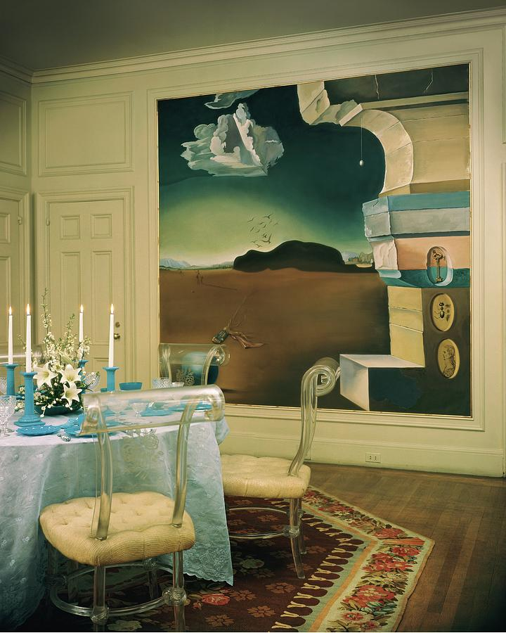 The Dining Room Of Princess Gourielli Photograph by Haanel Cassidy
