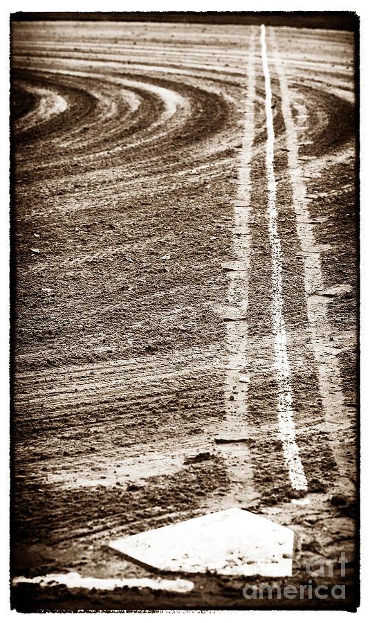 Dirt Photograph - The Dirt Field by John Rizzuto