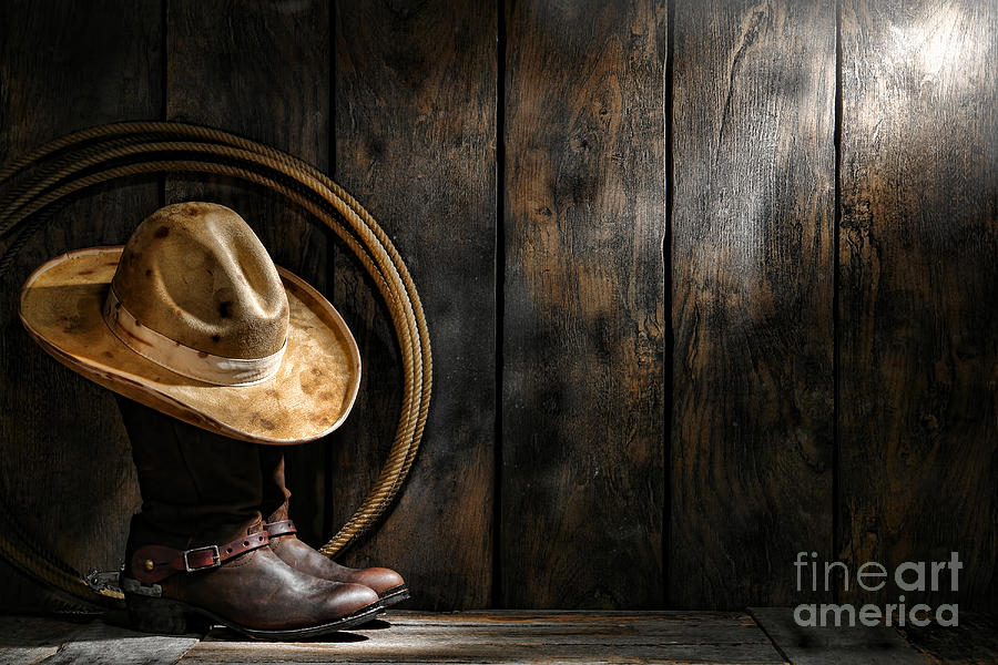 Western Photograph - The Dirty Hat by Olivier Le Queinec