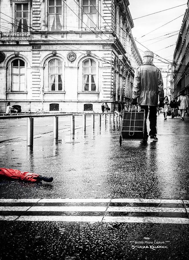 Slice Of Life Photograph - The distracted vagabond by Stwayne Keubrick