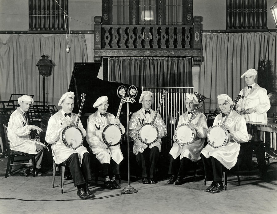 The Dixie Melodists Band by Underwood Archives