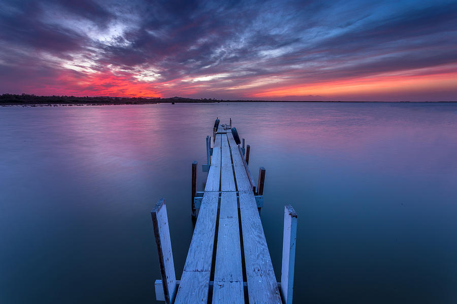 The Dock I by Peter Tellone